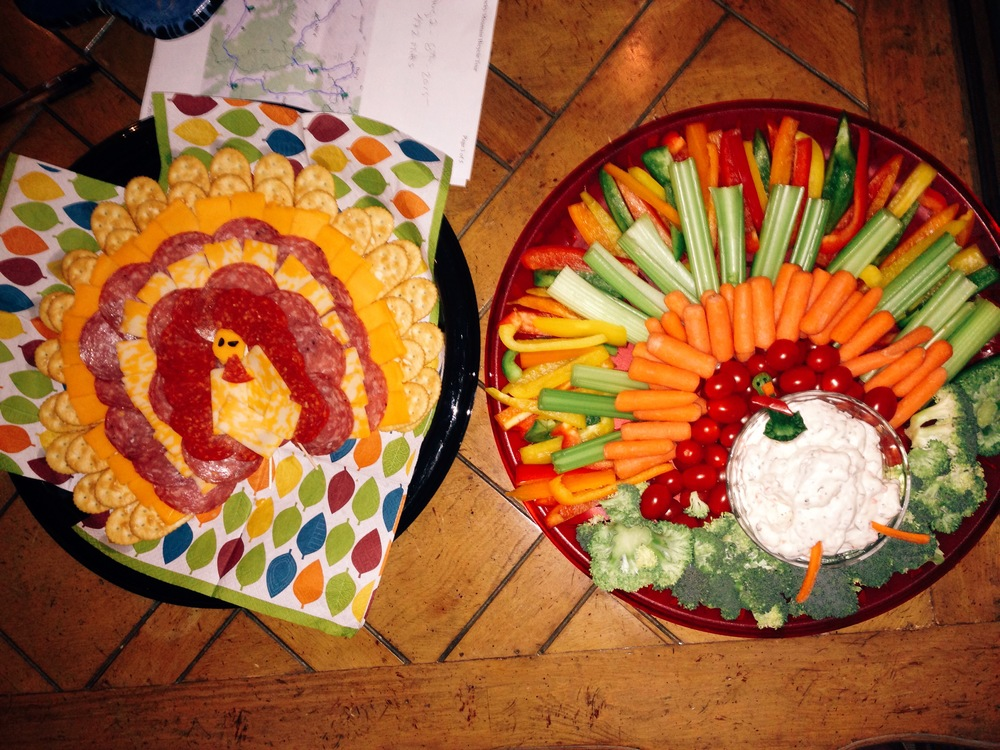 Erin made cute Thanksgiving treats :)