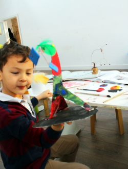 Image from one of our Arts Workshops with Ema