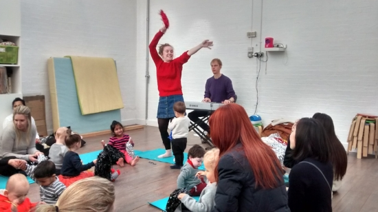 Live Music & Rhymes class