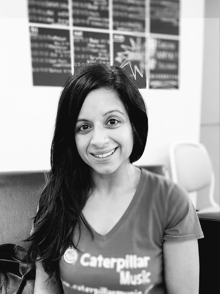 Caterpillar Music, Anita - What do you enjoy about teaching at 3HC?I enjoy the feeling of 'family' All the families & staff are so friendly. I really look forward to my Thursday mornings 🎶💃🏽What do you do for fun?Aside from my fun classes, I love to go swimming & gym classes, my favourite ladders are body attack & HIIT class. I'm hoping to get back into yoga when I have time. I also love going out to the cinema & restaurants with friends & family.What was your favourite snack or cereal when you were young?As a child, I loved Weetabix -yum yum 😋What is one of your favourite parks, restaurants or cafes in the city?My favourite park is Hyde Park, I have lovely childhood memories of family picnics, boating & playing as a child. I love Bright Courtyard restaurant in Baker Street. Amazing vegetarian food!