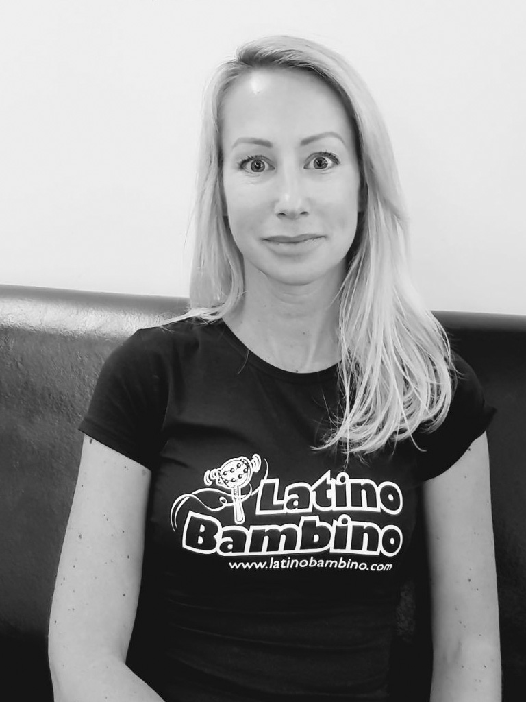 Latino Bambino, Urska - Latino Bambino is the brainchild of our head teacher, Urska Gestrin Mosquera, and is a continuation of all the work that she has done in the past.Urska was a competitive Latin American and Ballroom dancer, and four-time national champion. She is a qualified Latin-American and Ballroom judge (adjudicator), and has over 15 years of experience in teaching dance including salsa.She has trained children, teenagers and adults for international competitions and during this time raised national champions.What do you enjoy about teaching at 3HC?That every session feels like party! 3HC is a cosy family friendly club with members from all around the world that all speak the same language: Dance! What do you do for fun?For Fun I like to dance some more, spend time with my family, watch movies, meet friends,..What was your favourite snack or cereal when you were young?As a child of Yugoslavia (there wasn't much to choose from back then) but I looooved #čokolino cereal (picture baby rice in chocolate flavour)What is one of your favourite parks, restaurants or cafes in the city?My favourite park in London is Russia Dock Woodland in Rotherhithe. A hidden green gem in the middle of the city when you need a 'hideaway'.