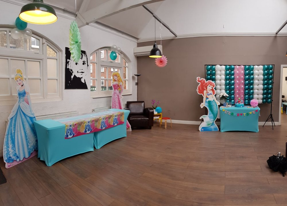 Upstairs decorated 1st room at 3 House Club.JPG