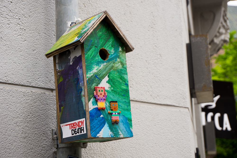 """Trendy Birdhouse"""