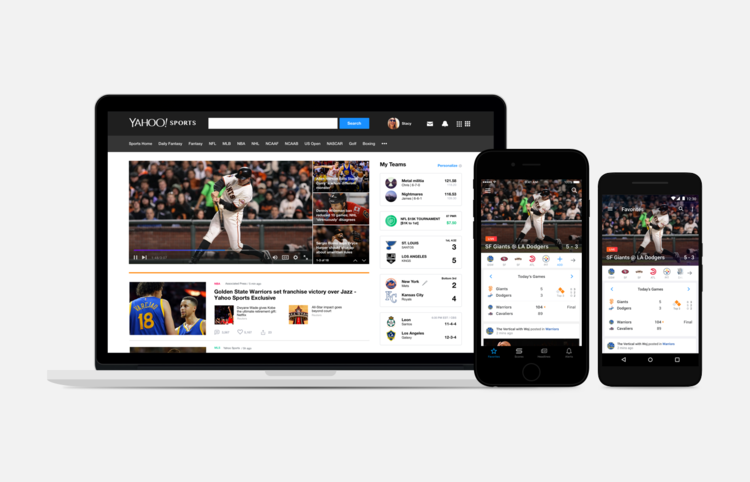 Yahoo Sports Redesign