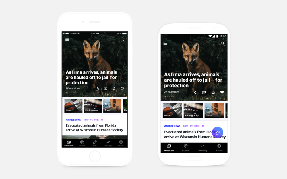 Newsroom App