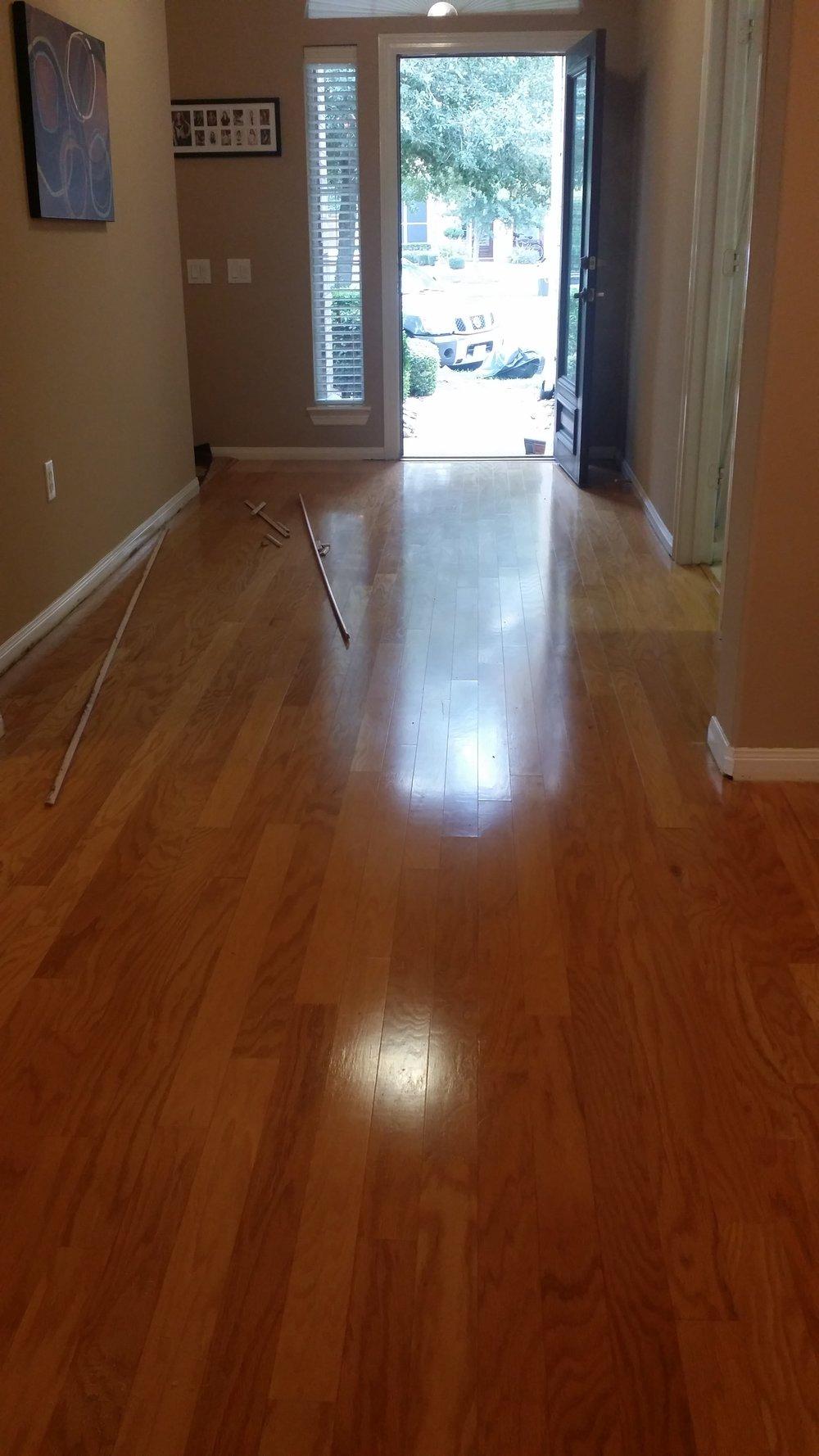 Karen E. Engineered Floor Refinished U2014 Houston Hardwood Floor Refinishing  Installations