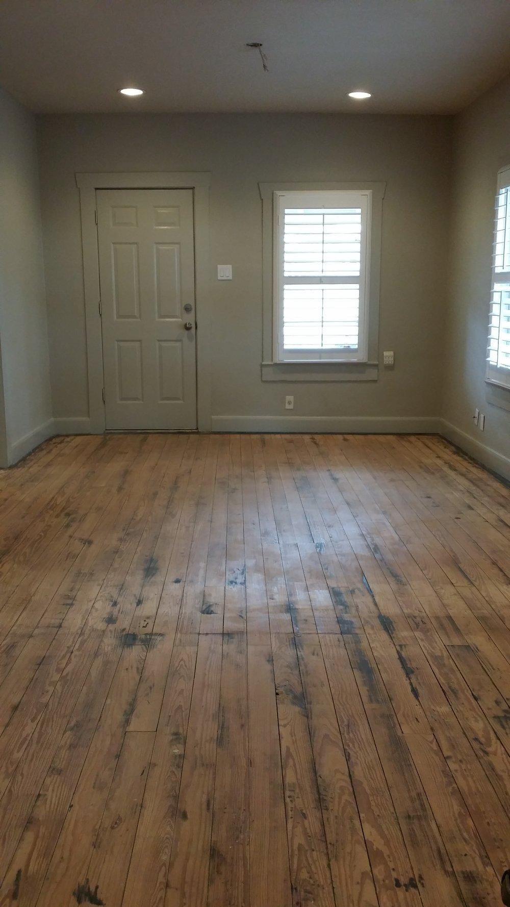 Hardwood Floor Refinishing, Installations In Houston