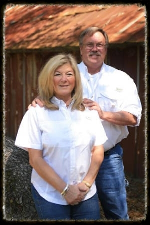 """BRENDA & """"BIG D"""" DANNY COWGILL  The Owners"""