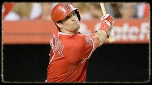 Collin Cowgill #7 of the Los Angeles Angels of Anaheim