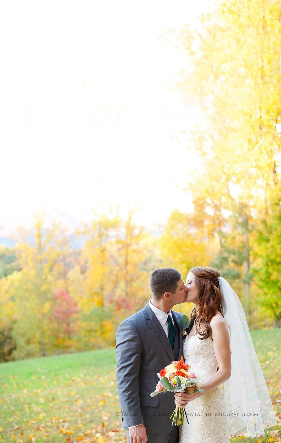 This gorgeous shot of Amy + Adam was taken at the  Irvine Estate  in Lexington Va.