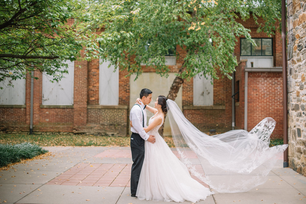 Washington Mill Dye House Wedding