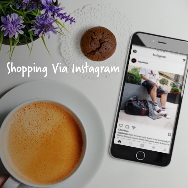Shopping Via Instagram   Instagram Shopping can enable people to shop online easier than other applications.   This is a DePaul University group project.