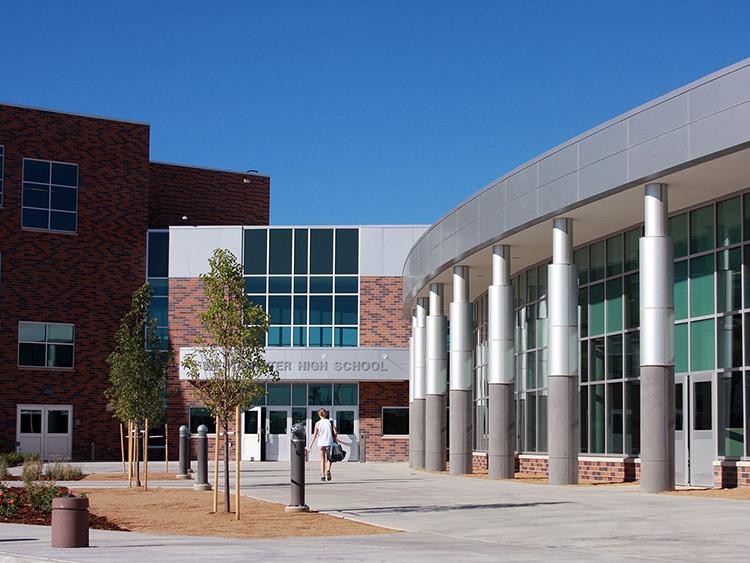 Entry plaza
