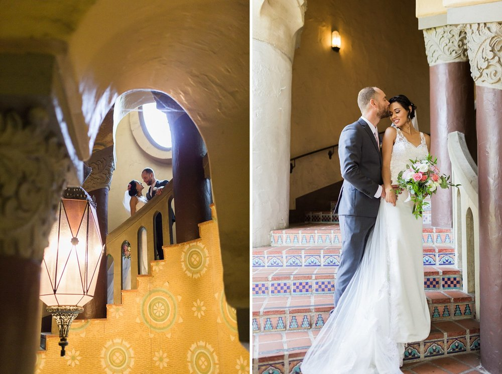 wedding photographer santa barbara courthouse