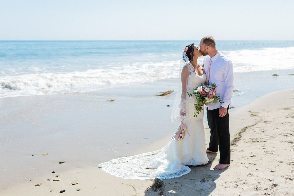hendry's beach wedding photography