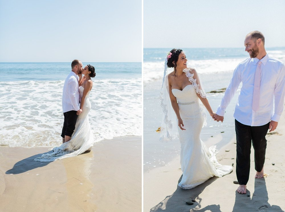 arroyo burro beach wedding photography
