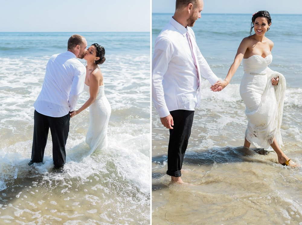 beach wedding photography santa barbara