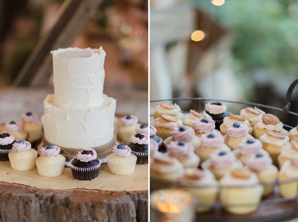 enjoy cupcakes wedding dessert photos