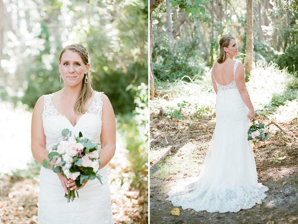 santa barbara wedding photography rustic bridal portraits