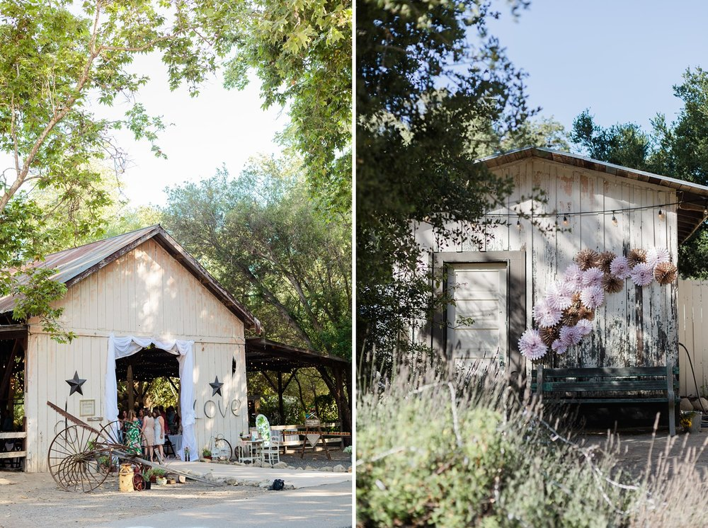 santa barbara rancho dos pueblos barn wedding reception photography