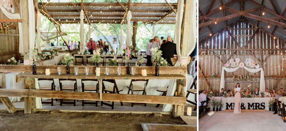 wedding photography rancho dos pueblos barn reception