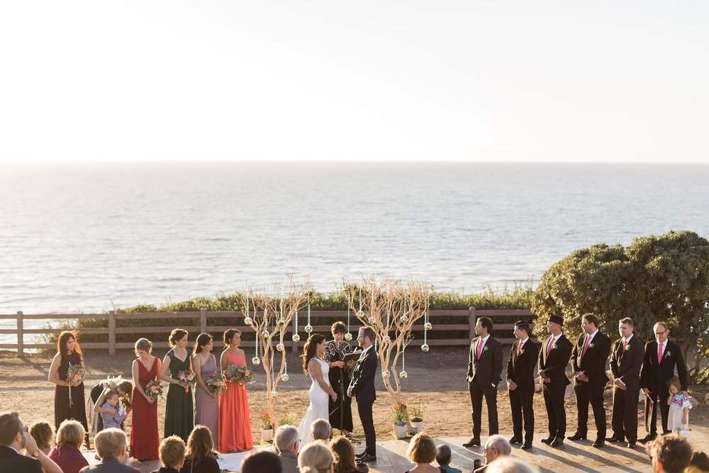palos verdes beach wedding photography