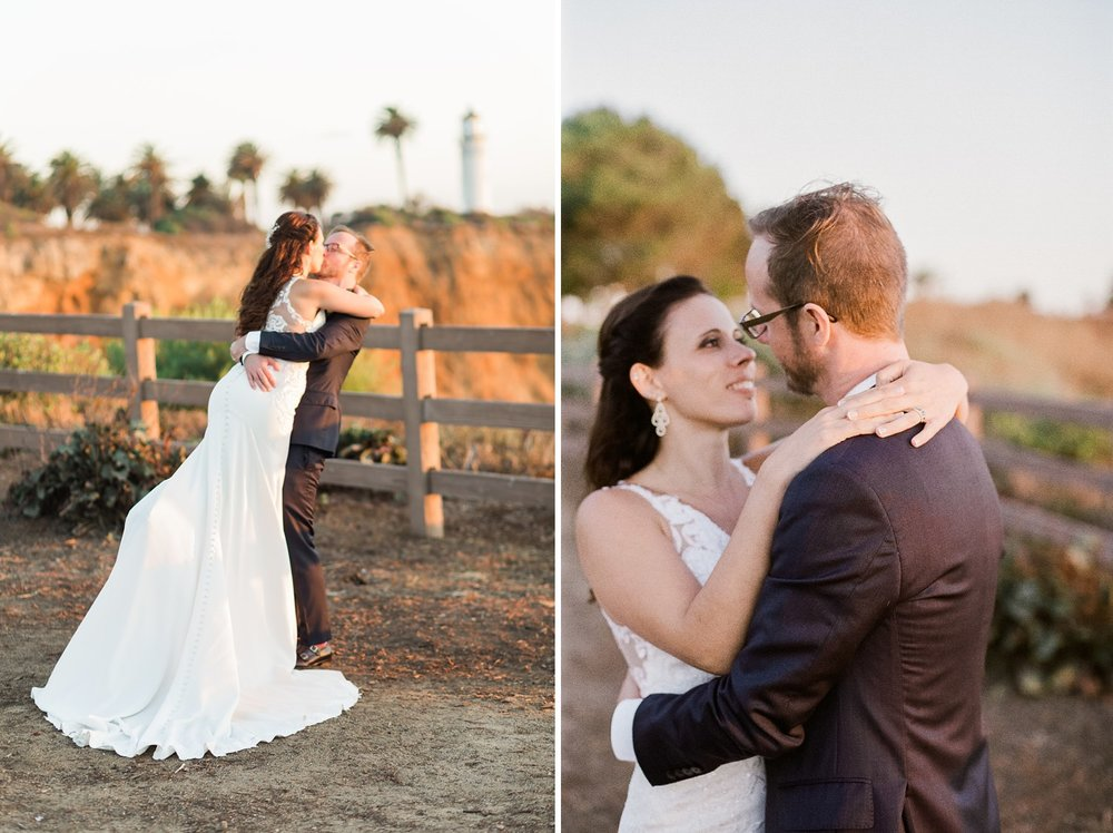 palos verdes wedding lighthouse