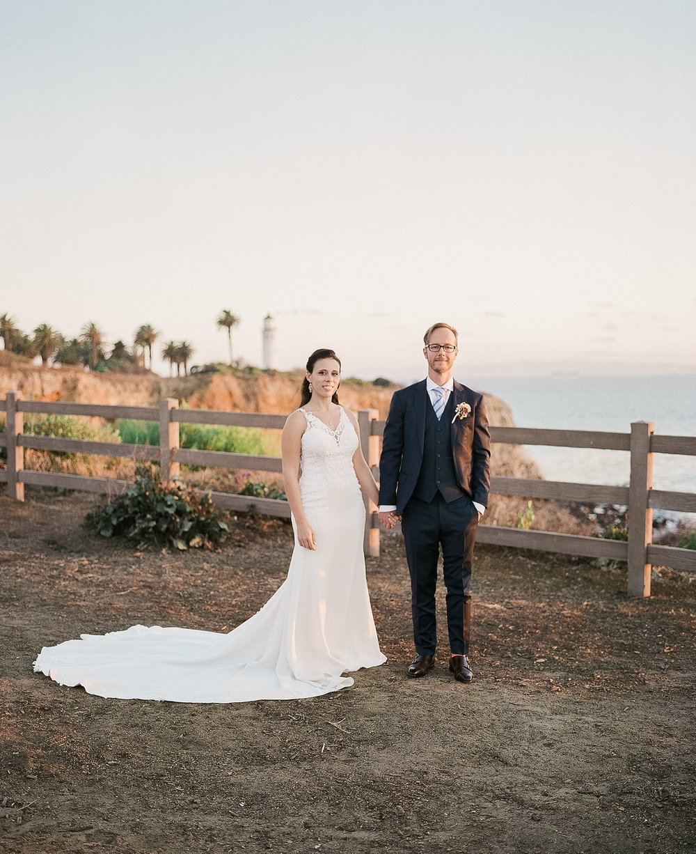 point vicente lighthouse film wedding photography