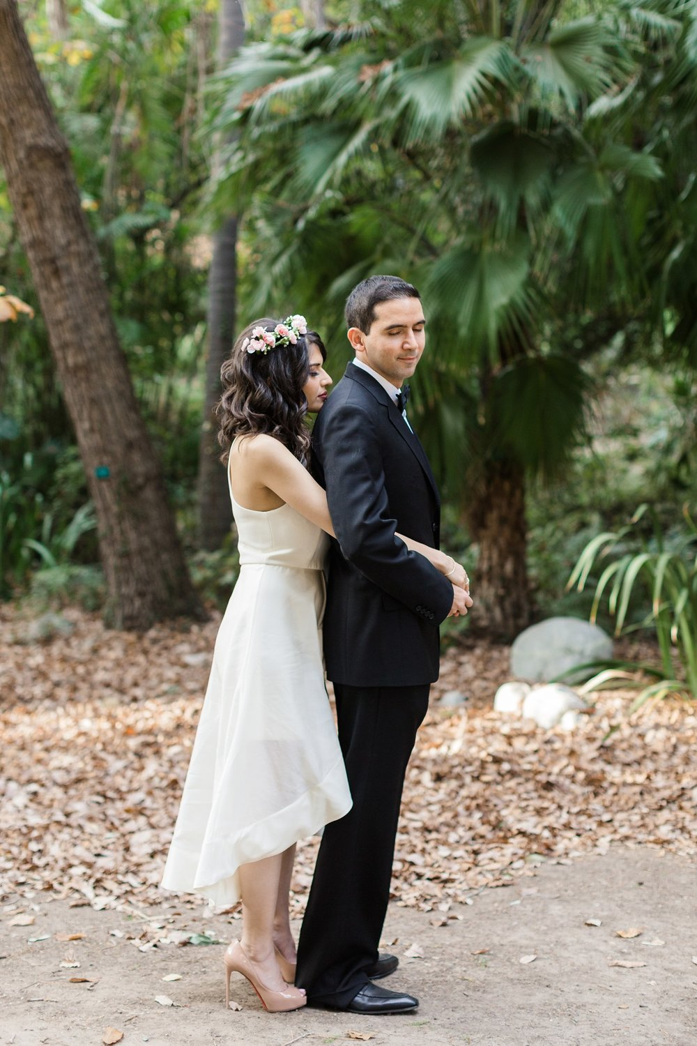 los angeles botanical garden wedding photography