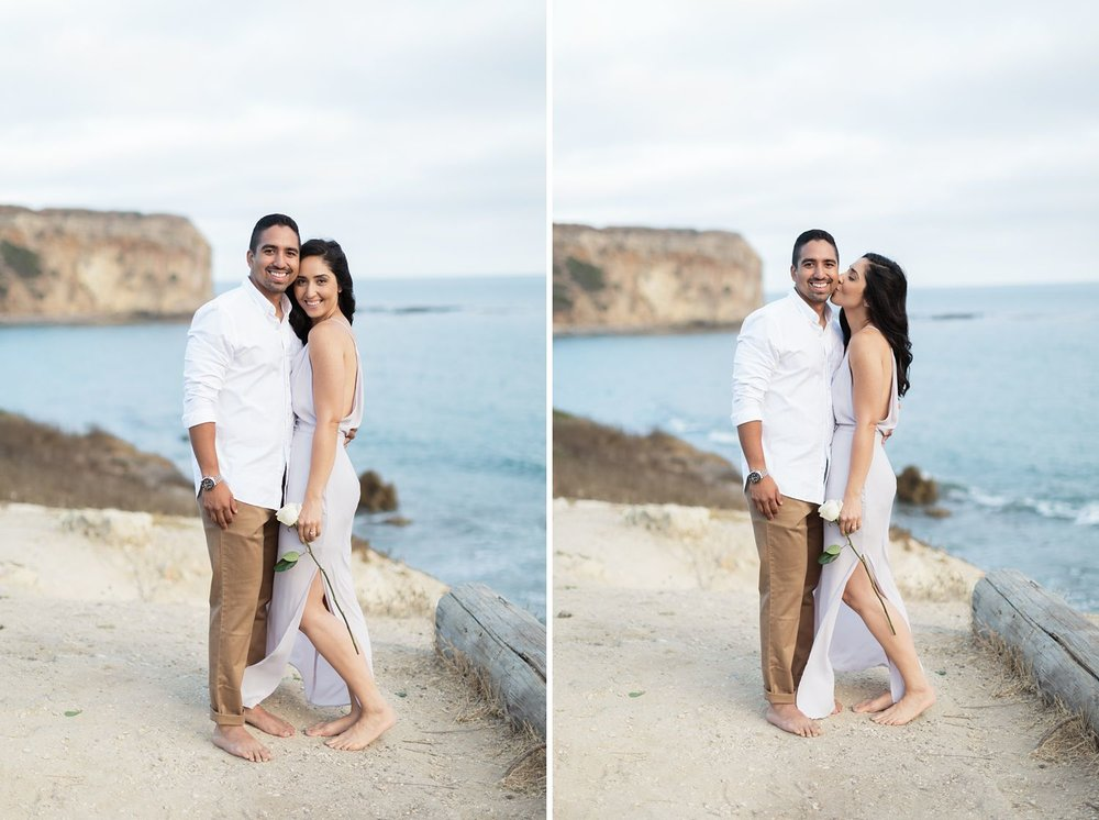 abalone cove engagement session