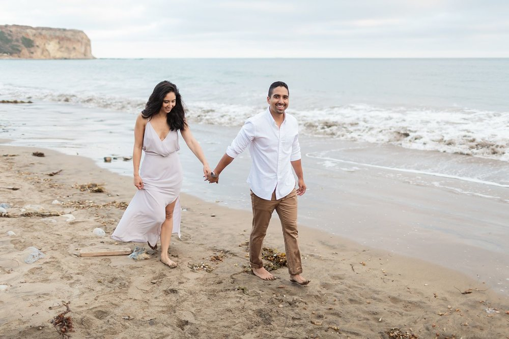 beach engagement photography los angeles
