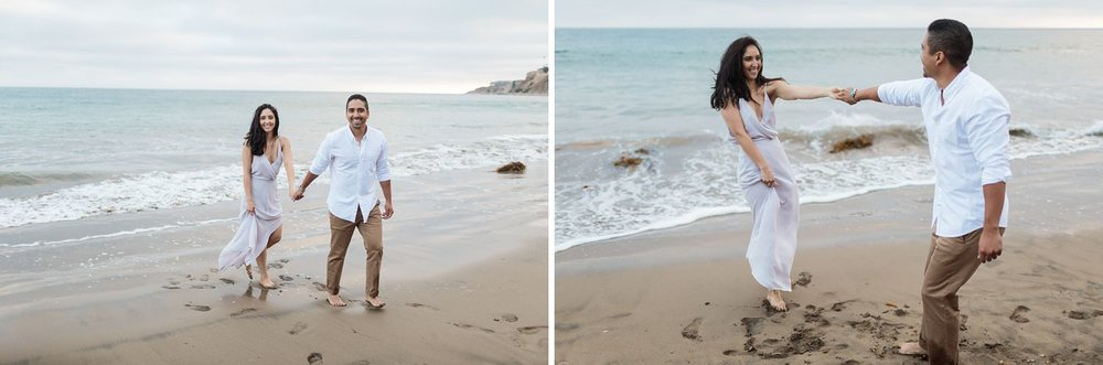 ocean engagement photos