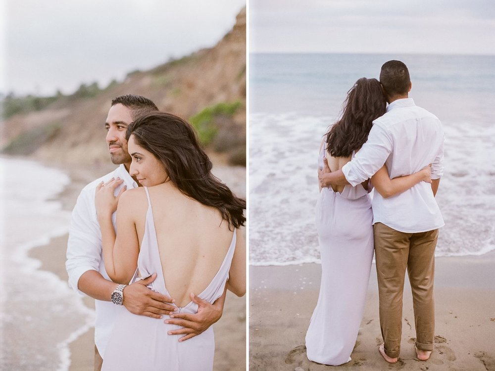 engagement photos at abalone cove