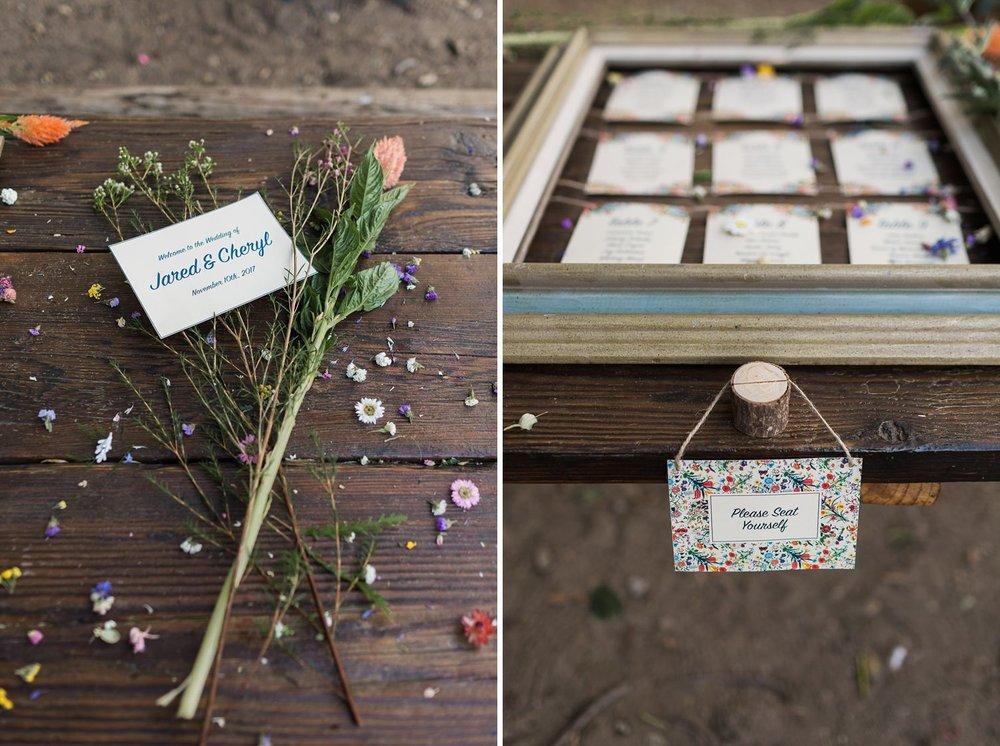 wildflower wedding decor sylmar