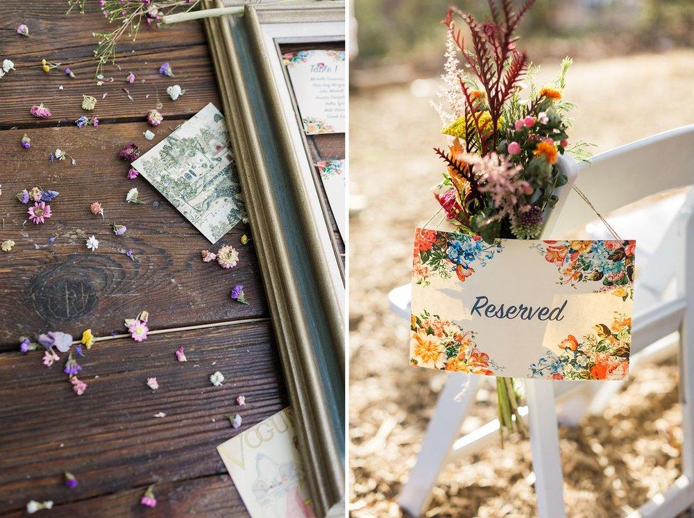 wildflower wedding decor los angeles