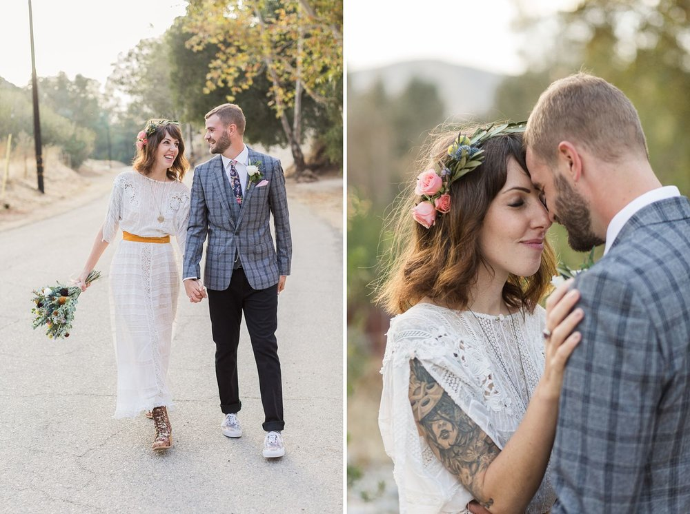 tattooed bride wedding photography