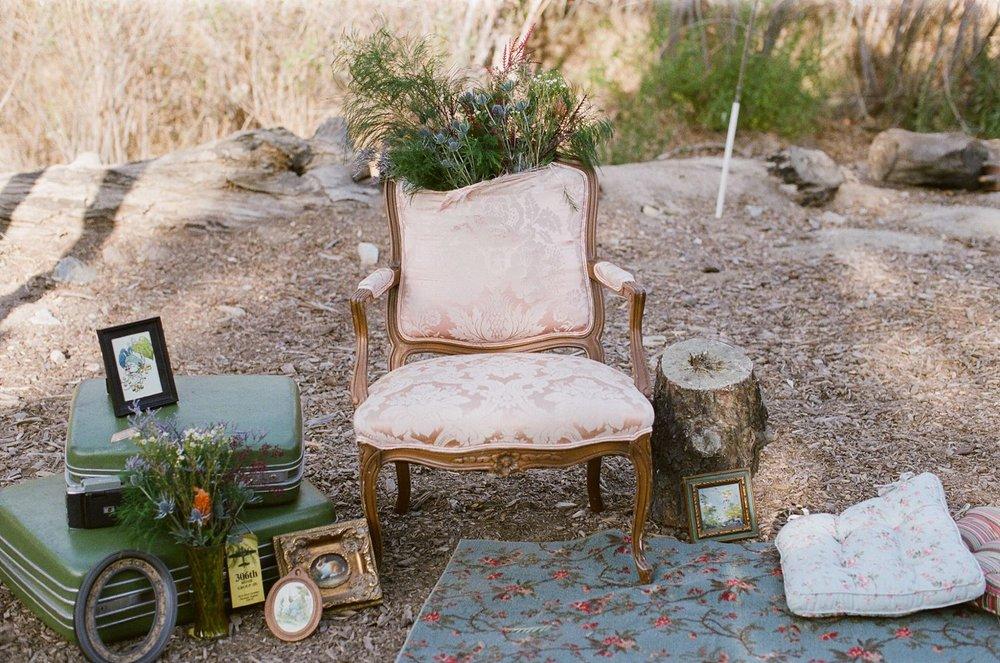 rustic ranch wedding decor los angeles california