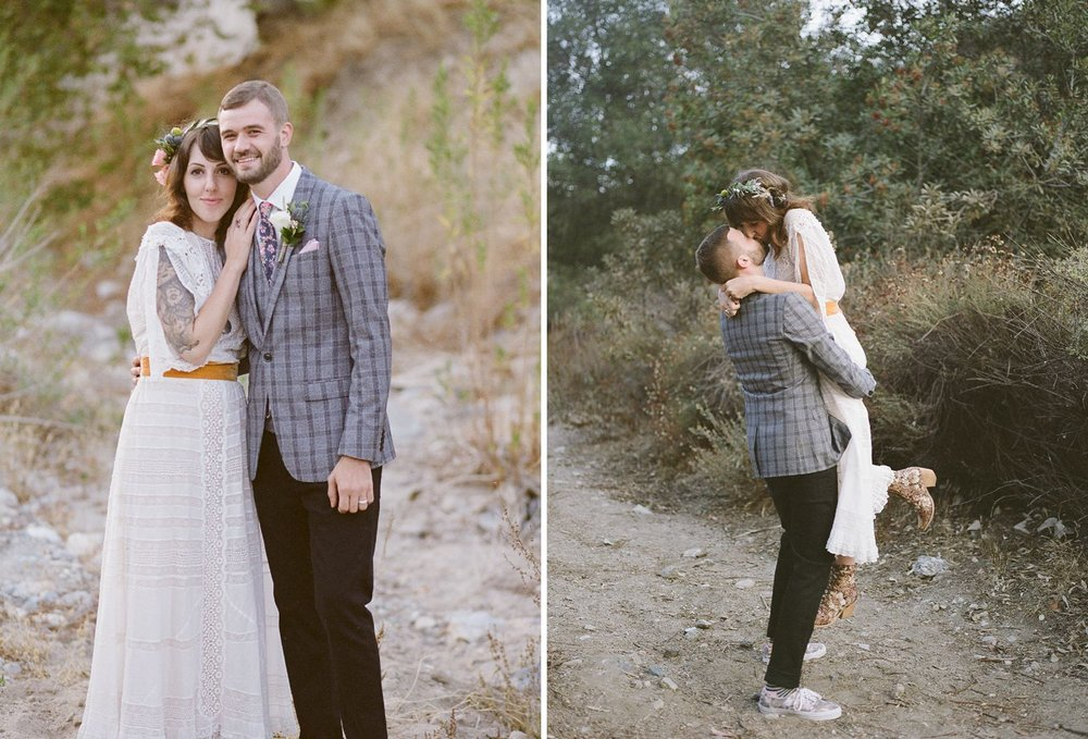 fuji 400 wedding photographer