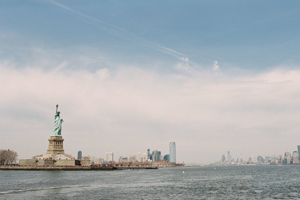 statue of liberty new york film photography