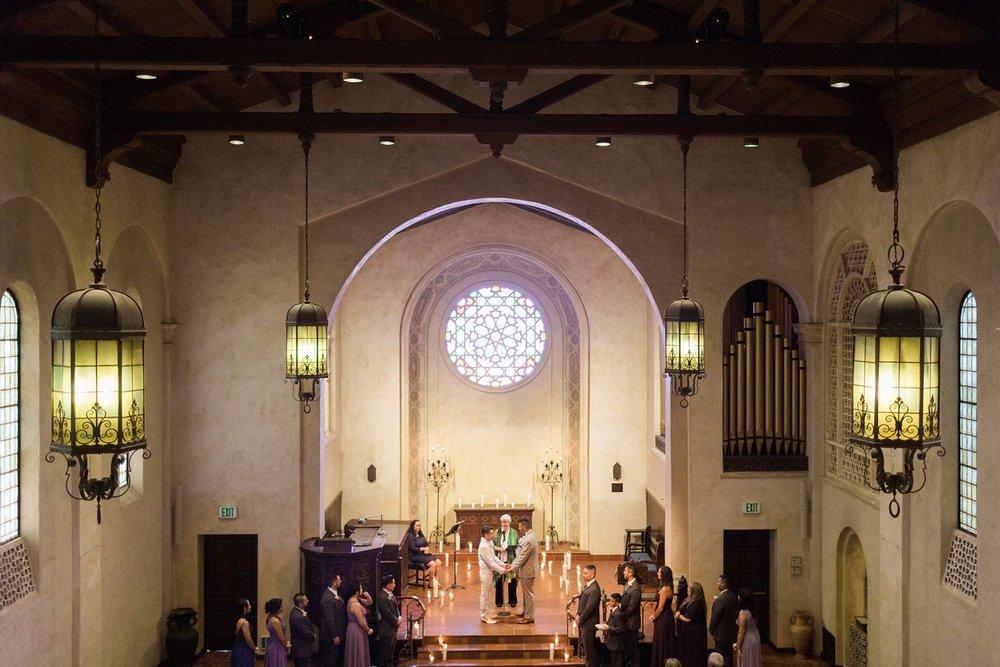 unitarian society of santa barbara wedding