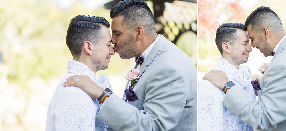 gay wedding photography rainbow apple watch
