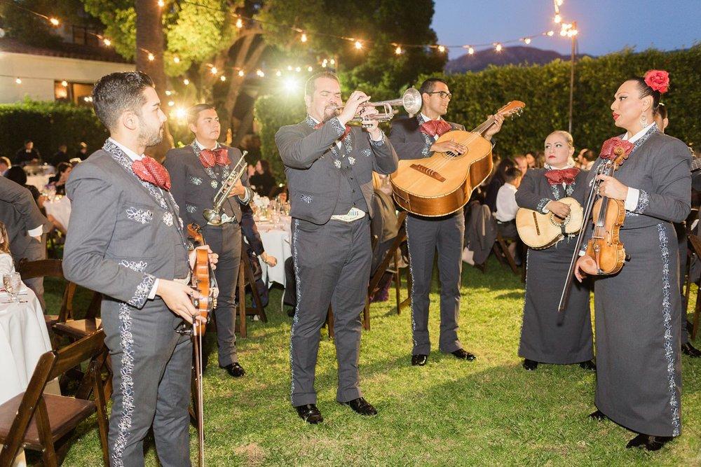 mariachi band at santa barbara wedding