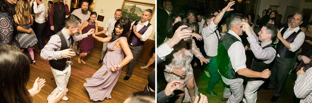 dancing riviera mansion wedding reception