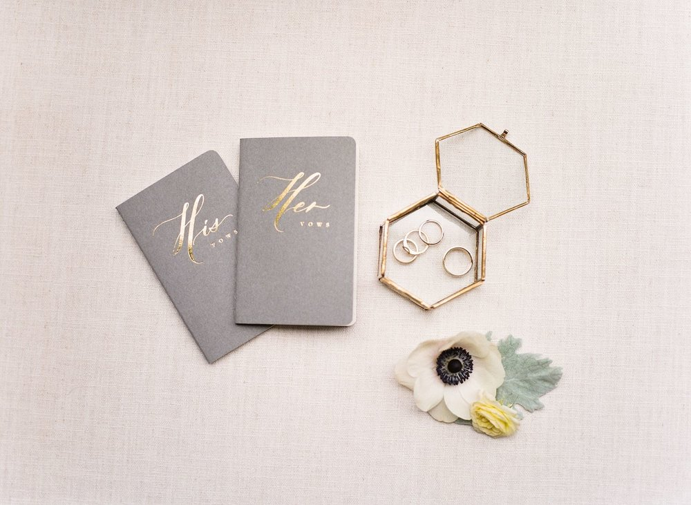 his and hers wedding vow books