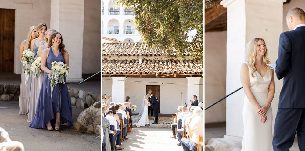 casa de la guerra wedding photographer santa barbara