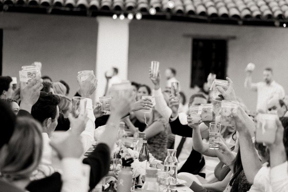 black and white wedding photos casa de la guerra