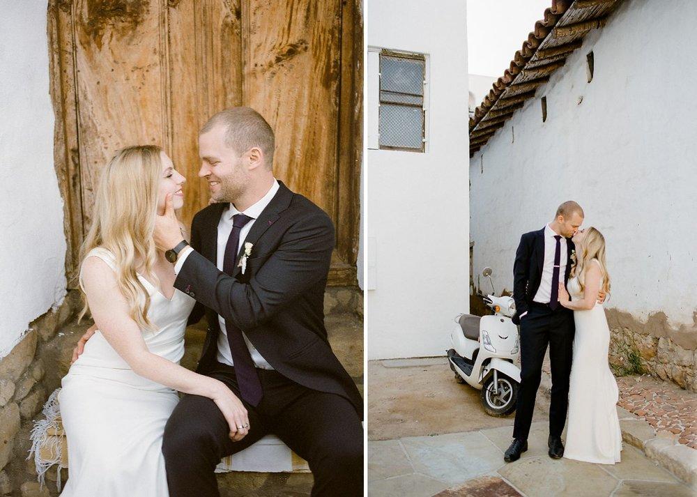 downtown santa barbara wedding photos