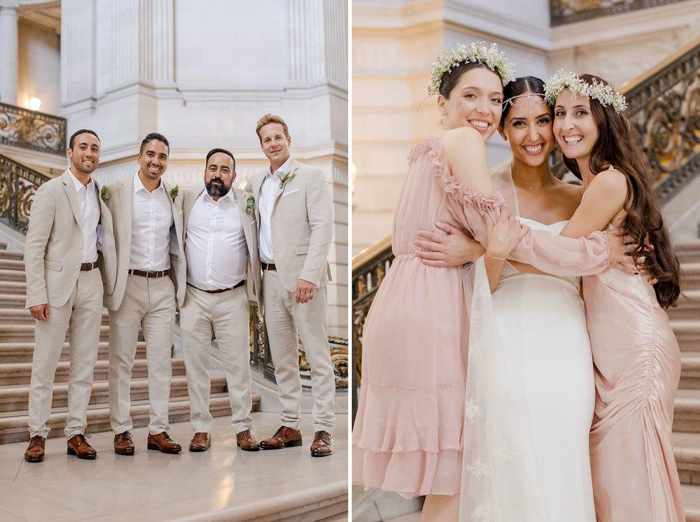 wedding photography san francisco city hall
