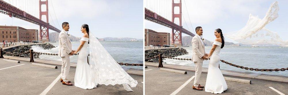 golden gate bridge wedding photographer