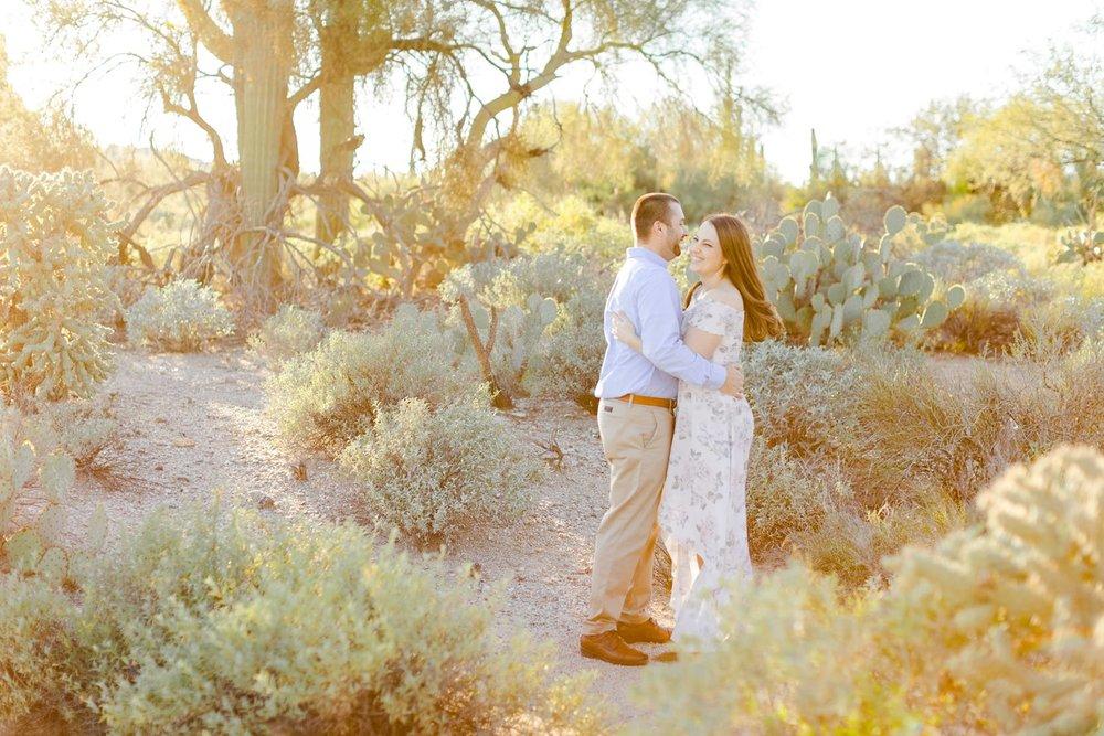 tucson desert engagement photographer
